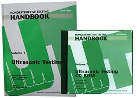 ASNT-0147WCD-PK Nondestructive Testing Handbook, Third Edition: Volume 7, Ultrasonic Testing (Book with CD-ROM)