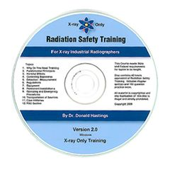 ASNT-3650B-CD-ROM Radiation Safety Training for X-ray Industrial Radiographers