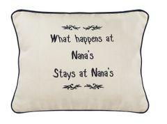 Item # P154 What happens at Nana's stays at Nana's