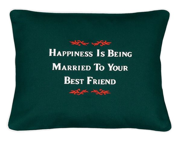 Item # P168 Happiness is being married to your best friend.