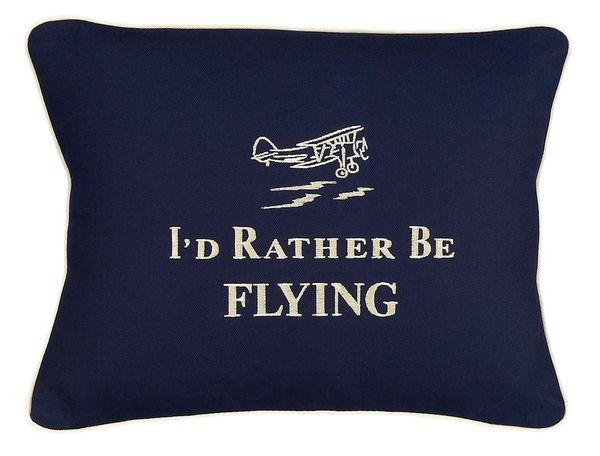 Item # P390 I'd rather be flying.