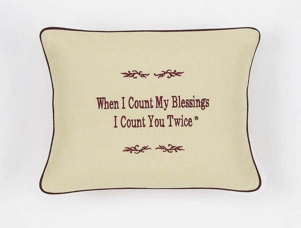 Item # P396 When I count my blessings I count you twice.