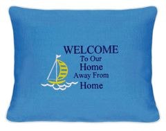 Item # P427B Welcome to our home away from home (sail boat)