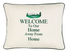 Item # P428 Welcome to our home away from home (Mountains)