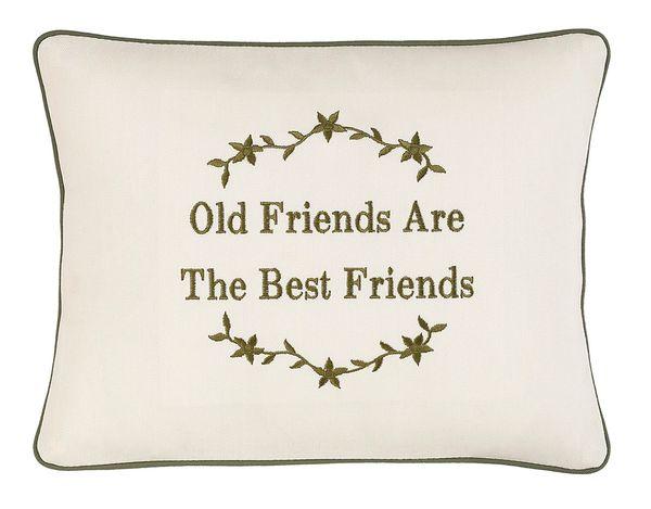 Item # P435 Old friends make the best friends.