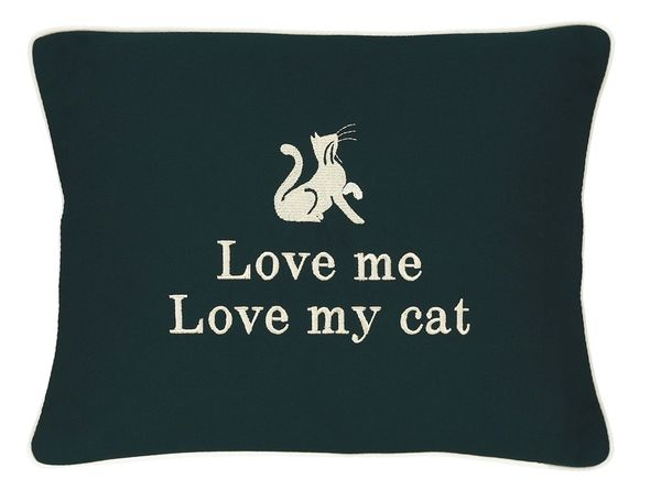 Item # P455 Love me, love my cat.