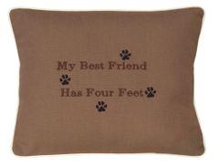 Item # P492 My best friend has four feet.
