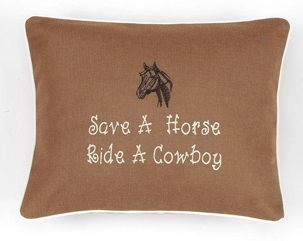 Item # P607 Save a horse ride a cowboy.