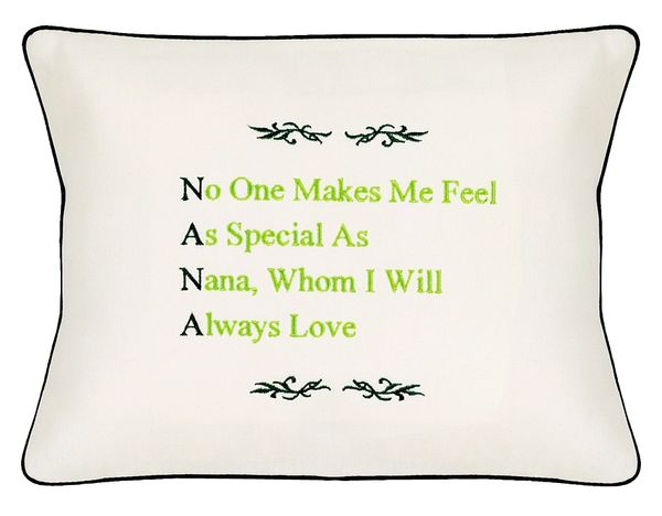 Item # P026 NANA (No one makes me feel as special as Nana, Whom I will always Love).