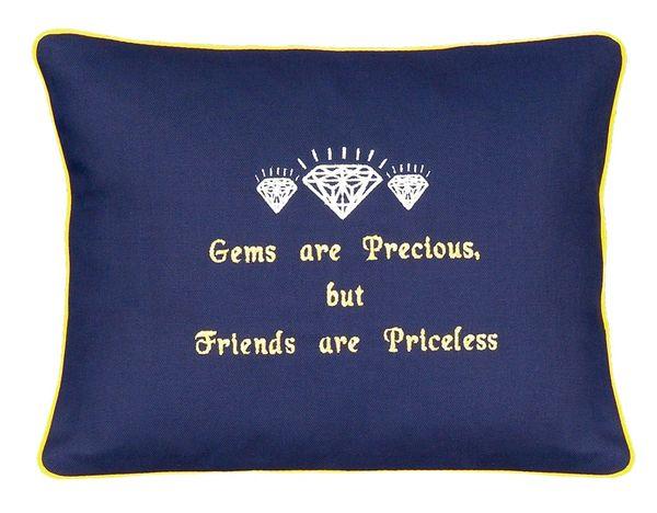 Item # P626 Gems are precious, but friends are priceless.