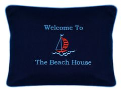 Item # P030 Welcome to the beach house.