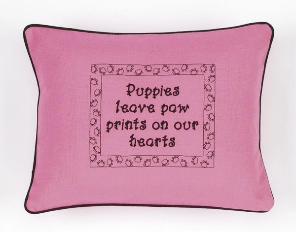 Item # P774 Puppies leave paw prints on our hearts.