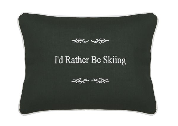 Item # P035 I'd rather be skiing.