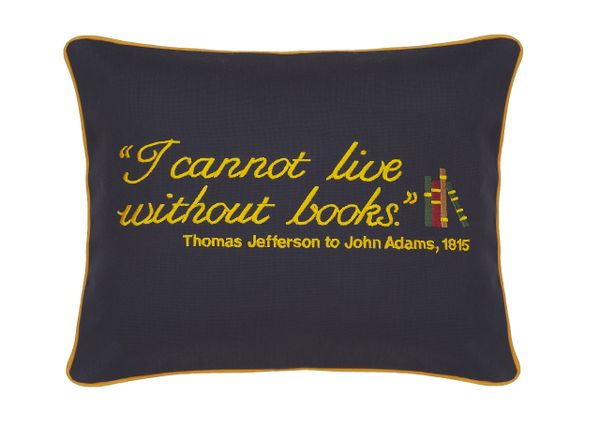 Item # P039 I cannot live without books.