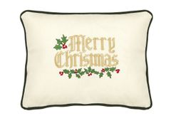 Item # P045 Merry Christmas (With Holly)