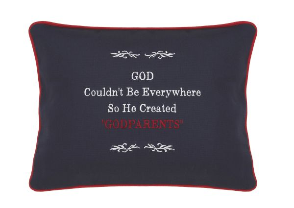 "Item # P096 God couldn't be everywhere so he created ""God Parents""."