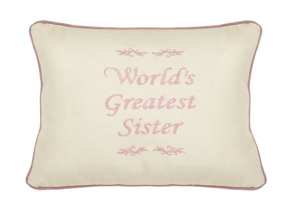 Item # P125 Worlds greatest Sister.