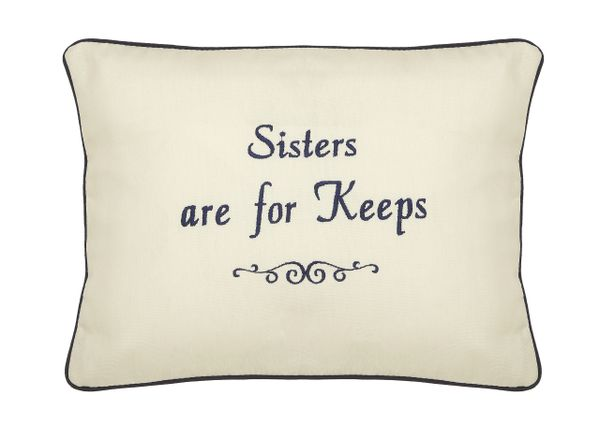 Item # P735 Sisters are for keeps.