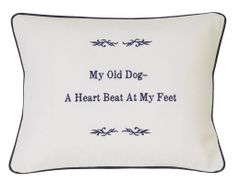 Item # P072 My old dog-a heart beat at my feet.