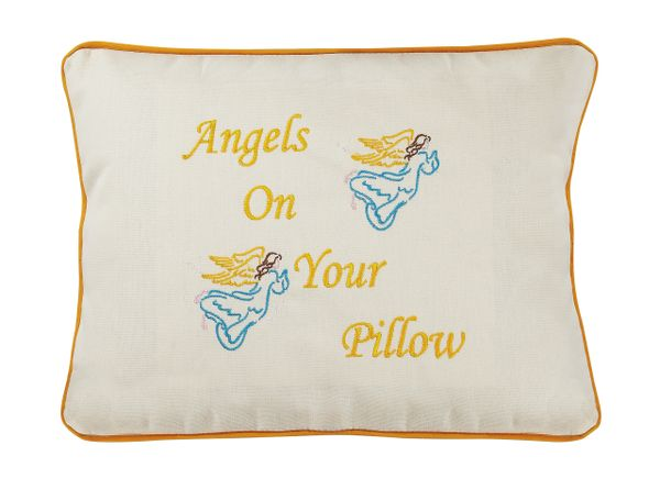 Item # P097 Angles on your pillow.