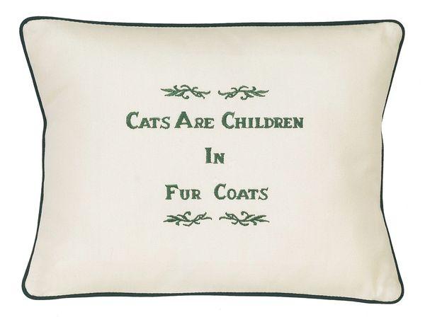 Item # P102 Cats are children in fur coats.