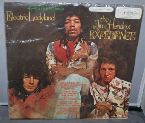 Jimi Hendrix - Electric Ladyland First Record Vintage Import Record Japan  Great hard to find record double album