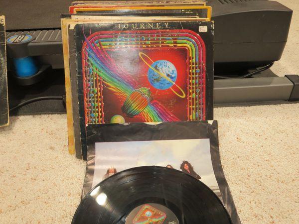 Journey Departure Vinyl Ex 1980 Cbs Generation Gap