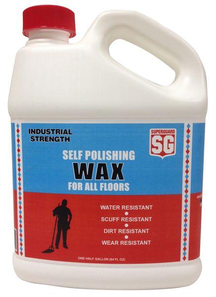 Superguard 174 Self Polishing Floor Wax 64 Fl Oz