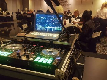 Christian DJ Services at Ministry gala event, Lightfoot Premier Entertainment