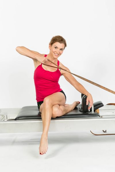 Train with Master Instructor Maria Leone, as featured in Pilates Style and Women's Fitness Magazine.