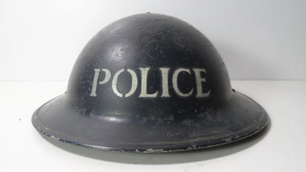 WW2 BRITISH POLICE HELMET