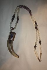 Grizzly Bear Claw Necklace - N253