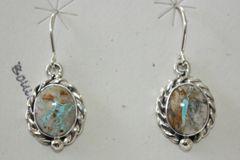 Boulder Turquoise Earrings - BL324