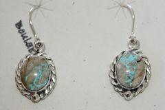 Boulder Turquoise Earrings - BL323