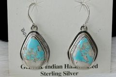 Boulder Turquoise Earrings - BL440 - SOLD