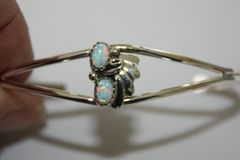 2 Stone Opal Bracelet - BR1530