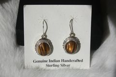 Tiger Eye Earrings - ER200 - SOLD
