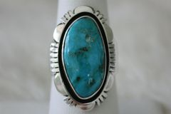 Candelaria Mine Turquoise Ring - R9120