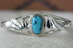 Turquoise Fan Bracelet - BR2522