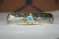Eagle & Turquoise Bracelet - (BR3883)
