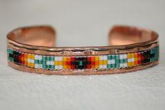 Navajo Copper Beaded Bracelet - BR1244