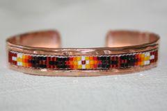 Navajo Copper Beaded Bracelet - BR1245