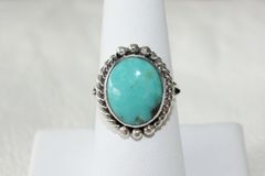 Crow Springs Mine Turquoise Ring - R1560