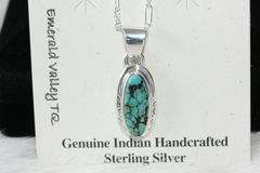 Emerald Valley Mine Turquoise Pendant - P521 - SOLD