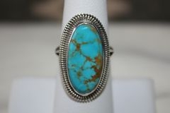 Basalt Mine Turquoise Ring - R300 - SOLD