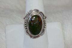 Emerald Valley Mine Turquoise Ring - R5001 - SOLD