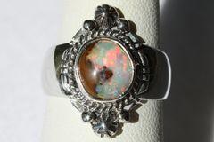 Boulder Opal Ring - BO912