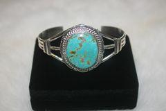 Number 8 Mine Turquoise Bracelet - N8118