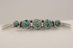 Number 8 Mine Turquoise Bracelet - N85923 - SOLD