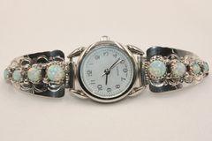 Ladies 8 Stone Opal Watch - W3401
